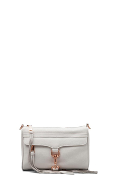 Rebecca Minkoff Mini MAC Clutch in White