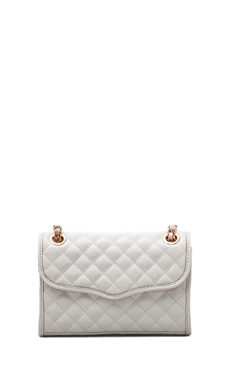 Rebecca Minkoff Diamond Quilted Mini Affair in White