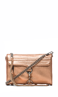 Rebecca Minkoff Mini MAC in Rose Gold
