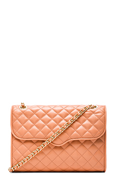 Rebecca Minkoff Quilted Affair in Peachy