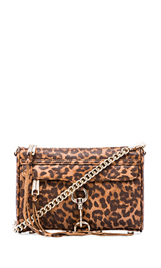 Rebecca Minkoff Mini MAC in Tan Leopard