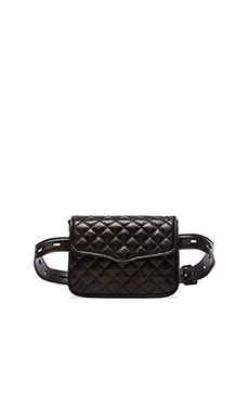 Rebecca Minkoff Affair Fanny Bag in Black