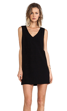 Robert Rodriguez Vertebrae B Shift Dress in Black