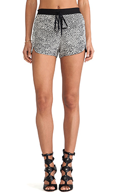Robert Rodriguez Cheetara Track Shorts in White
