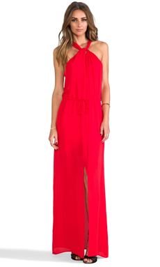 Rory Beca Fula Knot Front Dress in Fire