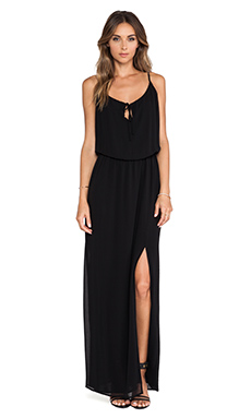 Rory Beca Asta Maxi Dress in Nero