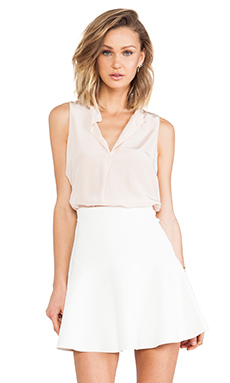 Rory Beca Trey Sleeveless Top in Frosty