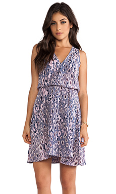 Rebecca Taylor Cheetah Ombre Dress in Multi