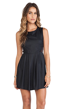 RVCA Woodruff Dress in Black