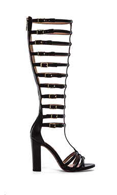 RACHEL ZOE Mason Gladiator in Black