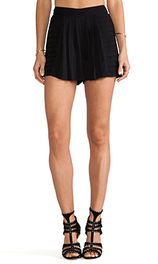 Sachin & Babi Carmen Shorts in Black Dahlia