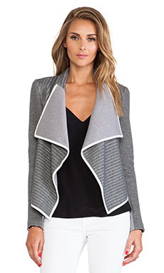 Sachin + Babi Navarre Jacket in Ash Stripe