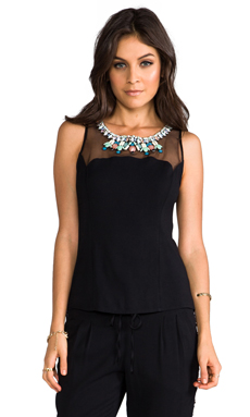Sachin & Babi Sylvie Top in Black