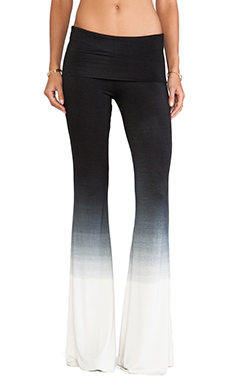 Saint Grace Ashby Flare Pant in Black Ombre