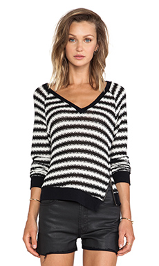 Sanctuary Fawn Sweater in Black & White