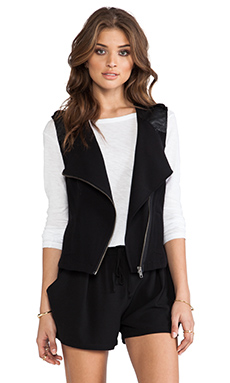 Sanctuary Soft City Vest in Black