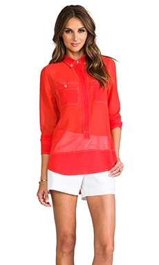 Sanctuary Paris Tunic in Poppy