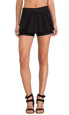 SAM&LAVI Juliette Shorts in Black