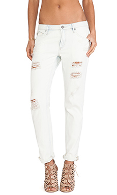 Sass & Bide Switch Off Slim Leg in Sunbleached Indigo