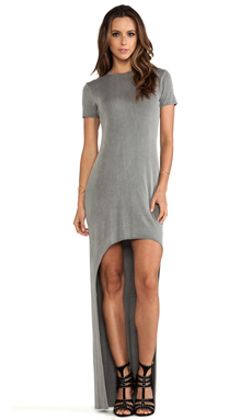 sen Helena Dress in Washed Grey