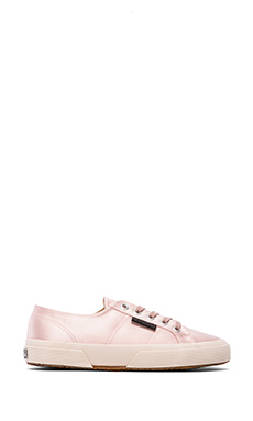 The Man Repeller x Superga Satin Sneaker in Ballet Pink