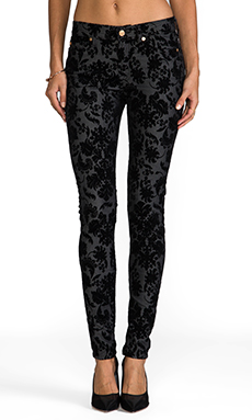 7 For All Mankind The Skinny in Floral Flocked