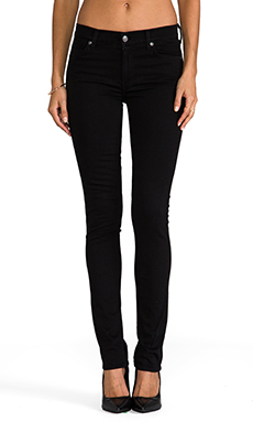 7 For All Mankind The Modern Straight in Clean Black