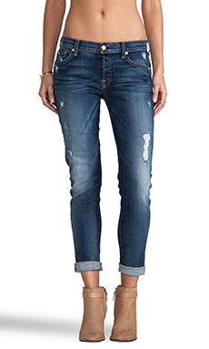 7 For All Mankind Josefina in Super Grinded Blue