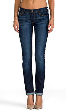 7 For All Mankind Straight Leg in Nouveau New York Dark