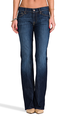 7 For All Mankind Petite Bootcut in Nouveau New York Dark