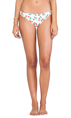15TH ANNIVERSARY CHERRIES PRINT BIKINI BOTTOM