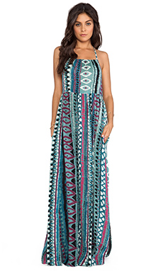 Somedays Lovin Liar Liar Printed Maxi Dress in Multi