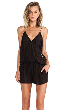 Somedays Lovin Marmalade Crossover Jumpsuit in Black