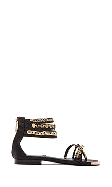 Steve Madden Lawful Sandal in Black Multi
