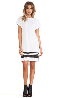 SKINGRAFT Striped Tunic in White