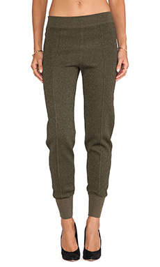 SONIA by Sonia Rykiel Lurex Legging in Khaki/Khaki