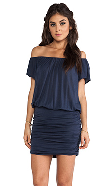Soft Joie Samera Dress in Indigo Blue