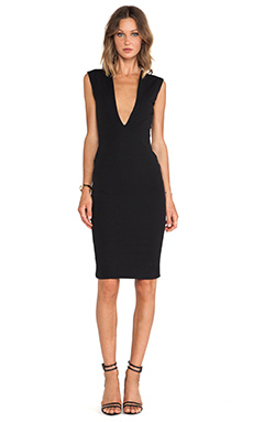 SOLACE London Lopez Dress in Black