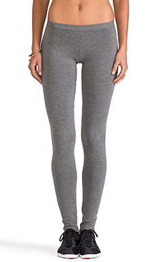 SOLOW Low Rise Legging in Medium Heather Grey
