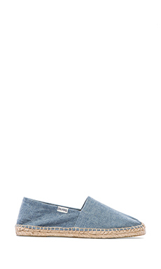 Soludos Denim Dali in Chambray Blue