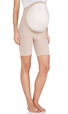 SPANX Power Mama Mid-Thigh Shaper in Bare