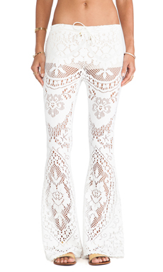 Spell & The Gypsy Collective White Dove Vintage Lace Bells in White