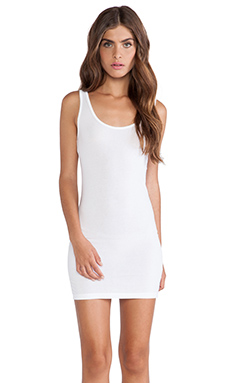 Splendid Basic Layer Dress in White
