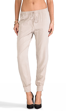 Splendid Track Pant in Almond