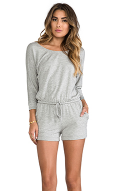 Splendid Romper in Heather Grey