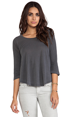Splendid Vintage Whisper Top in Lead