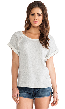 Splendid Desert Sands Terry Tee in Heather Grey