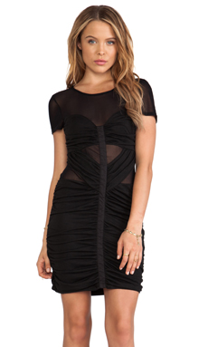 Style Stalker Warp Speed Dress in Black
