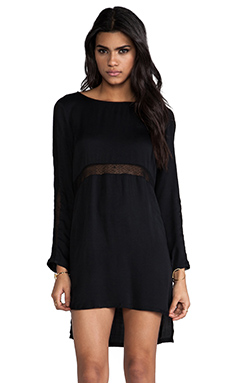 Style Stalker Nothing But Net Dress in Black