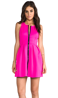 Style Stalker Word Dress in Hot Pink